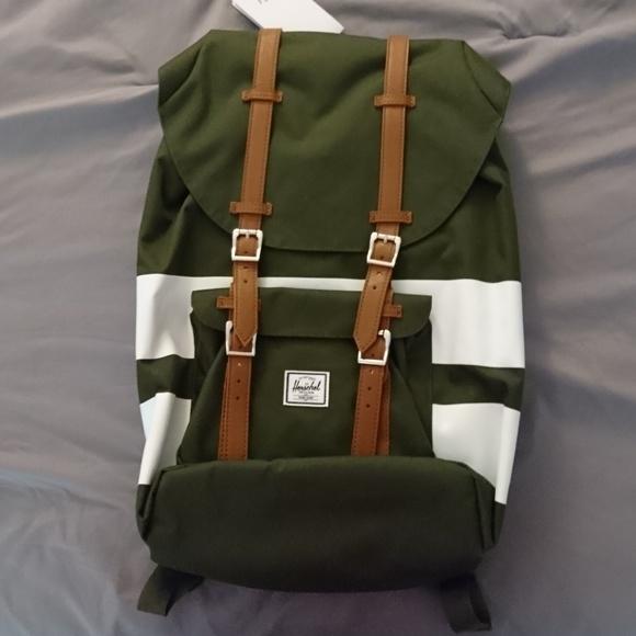 Herschel Supply Little America Backpack - green eb5dfd767ef49